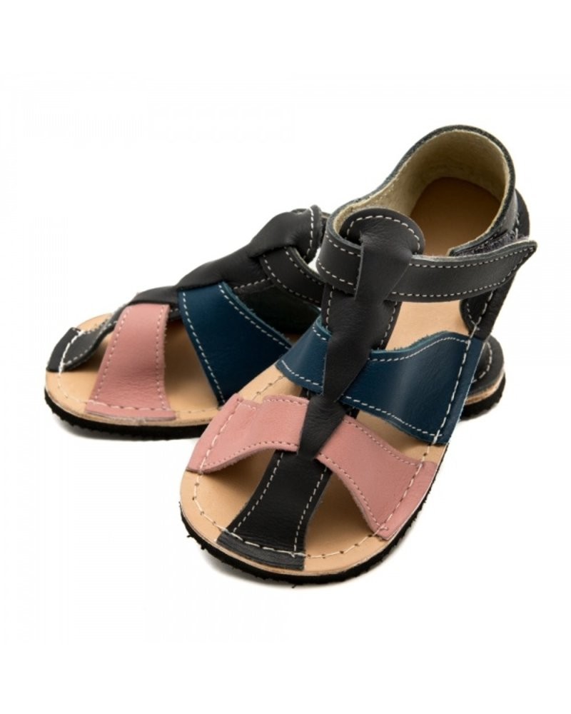 Zeazoo SALE: Sandaal Goby Gray, Blue and Pink