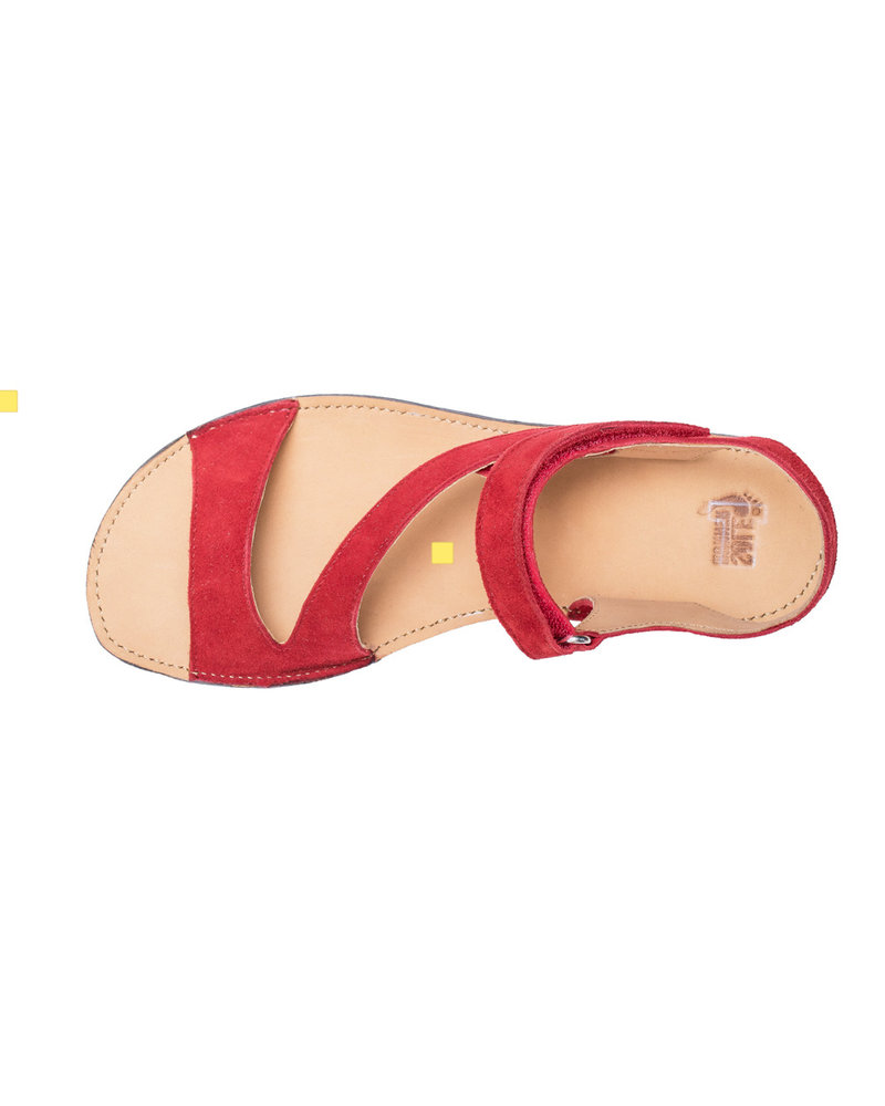 Sole Runner Dione Rood velours