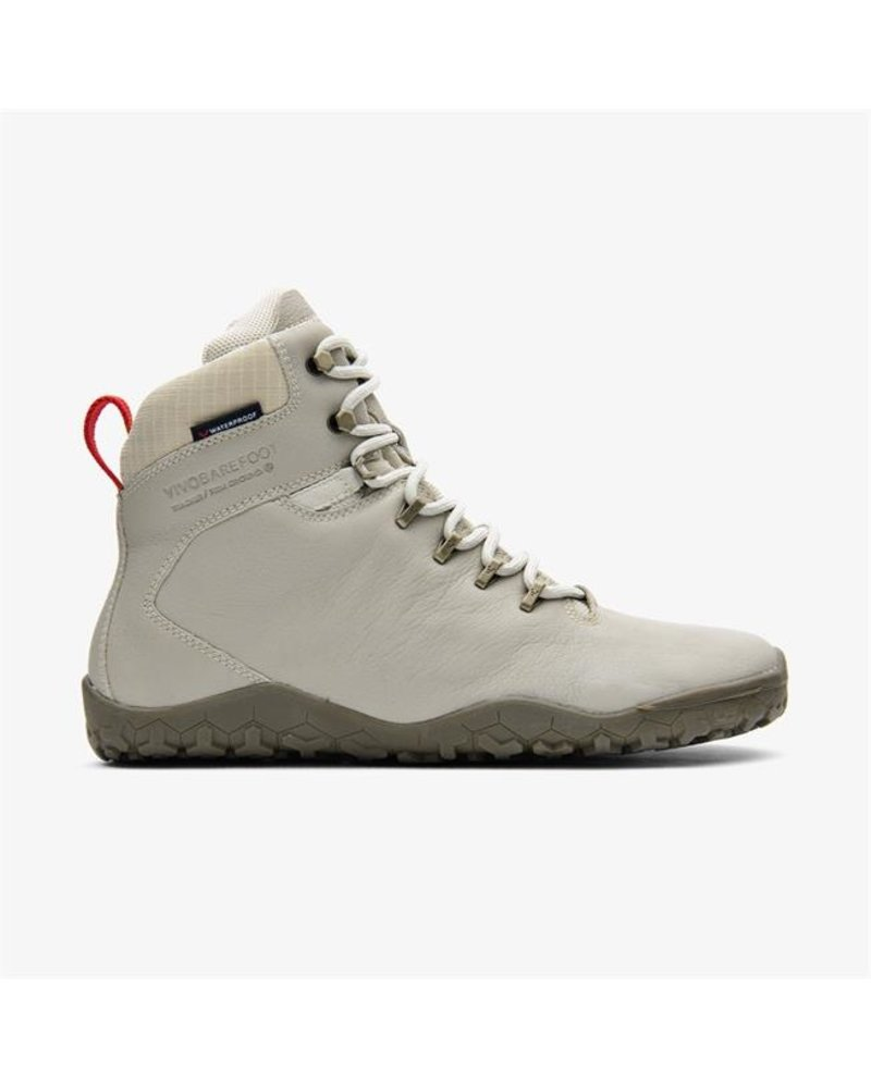 Vivobarefoot Tracker FG Ladies Leather Cement