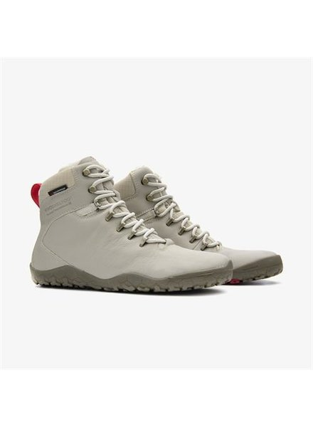 Vivobarefoot Tracker FG Ladies Leather Cement