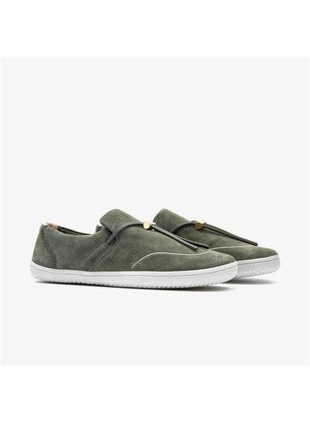 Vivobarefoot Ra Slip-on Ladies Leather Olive Green