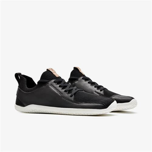 Vivobarefoot Primus Knit Men Leather Black