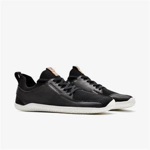Vivobarefoot Primus Knit Ladies Leather Black