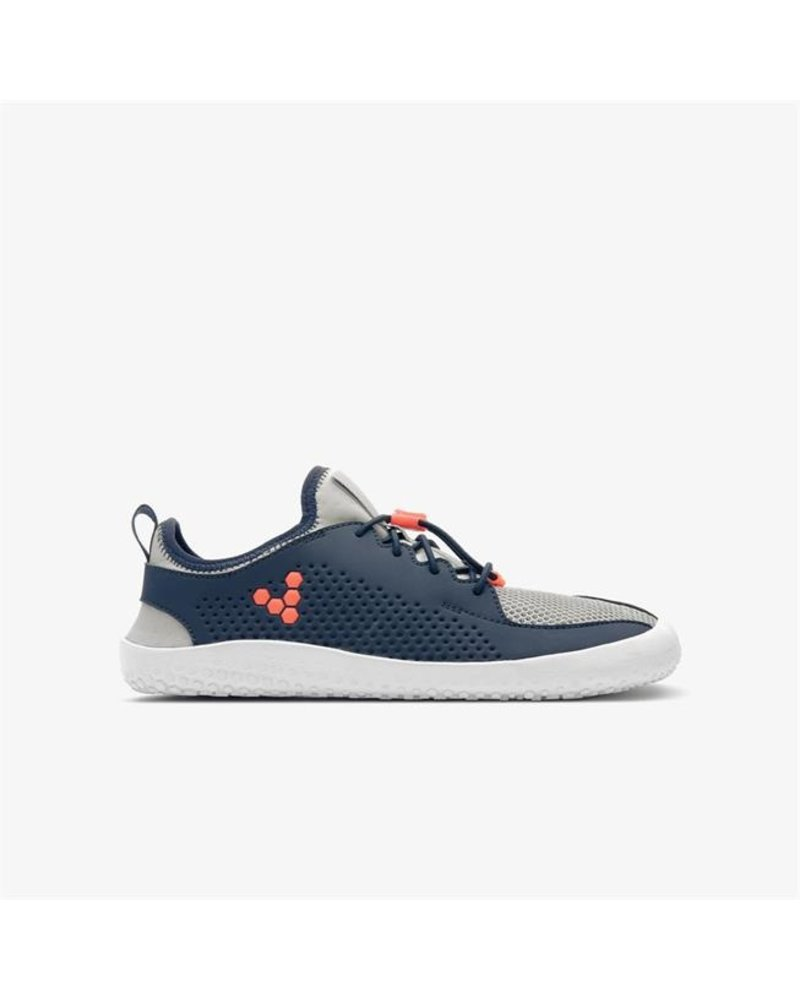 Vivobarefoot Primus Junior Navy/Grey/Orange