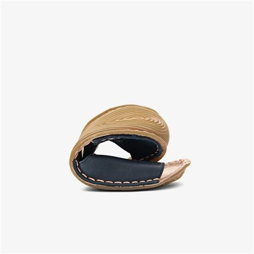 Vivobarefoot Ababa Sandal Kids Leather Navy