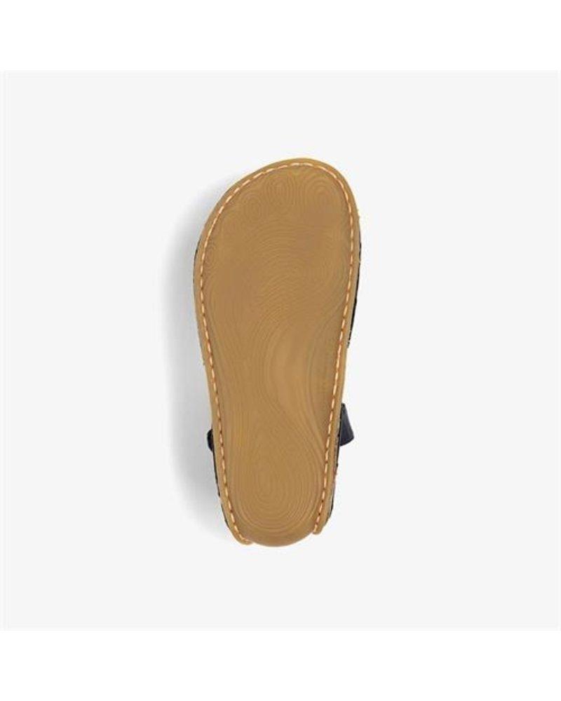 Vivobarefoot Ababa Sandal Kids Leather Navy