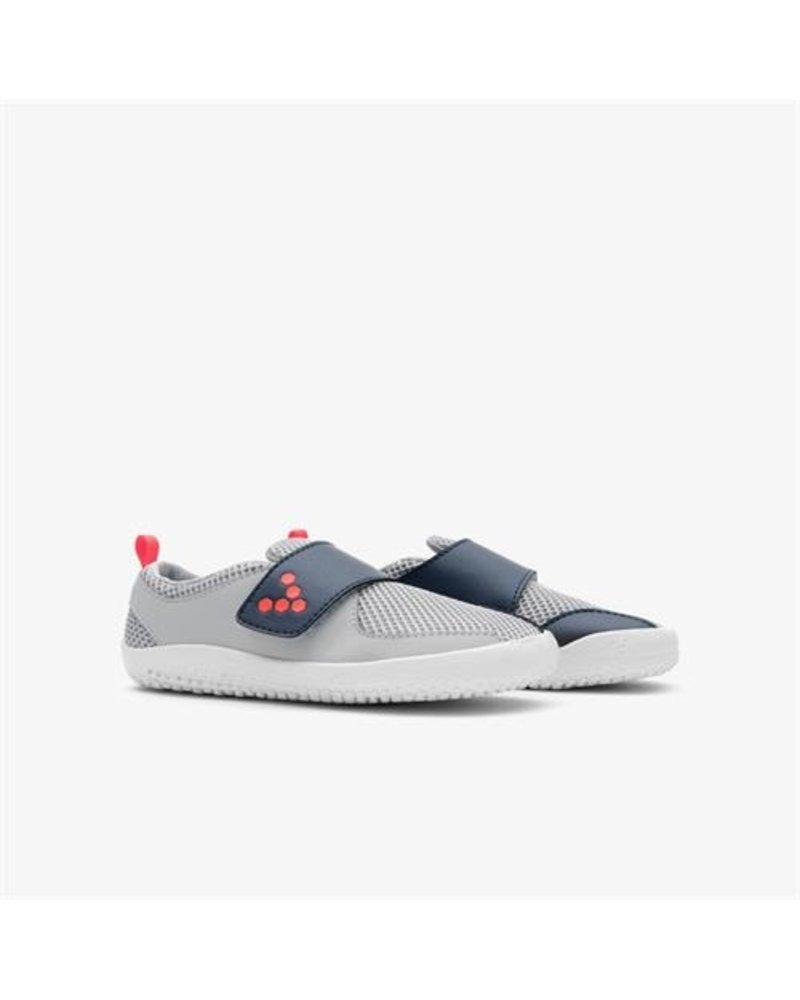 Vivobarefoot Primus Kids Grey/Navy/Orange