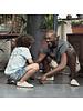 Vivobarefoot Ababa Men Cement Cream Born Free Canvas