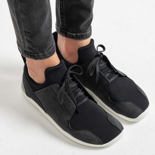 Vivobarefoot Kanna Ghillie Ladies Leather Black