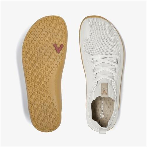 Vivobarefoot Primus Knit Men Leather Vap Grey