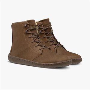 Vivobarefoot Gobi Hi III Ladies Leather Brown