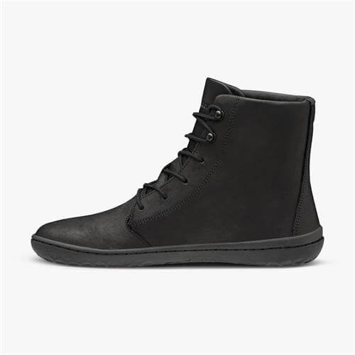 Vivobarefoot Gobi Hi III Ladies Leather Black