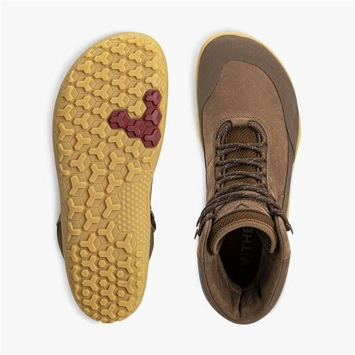 Vivobarefoot Tracker Hi FG Ladies Leather Brown