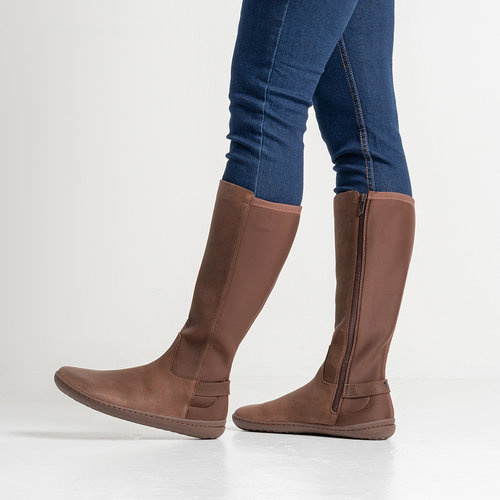 Vivobarefoot Ryder Ladies Leather Brown
