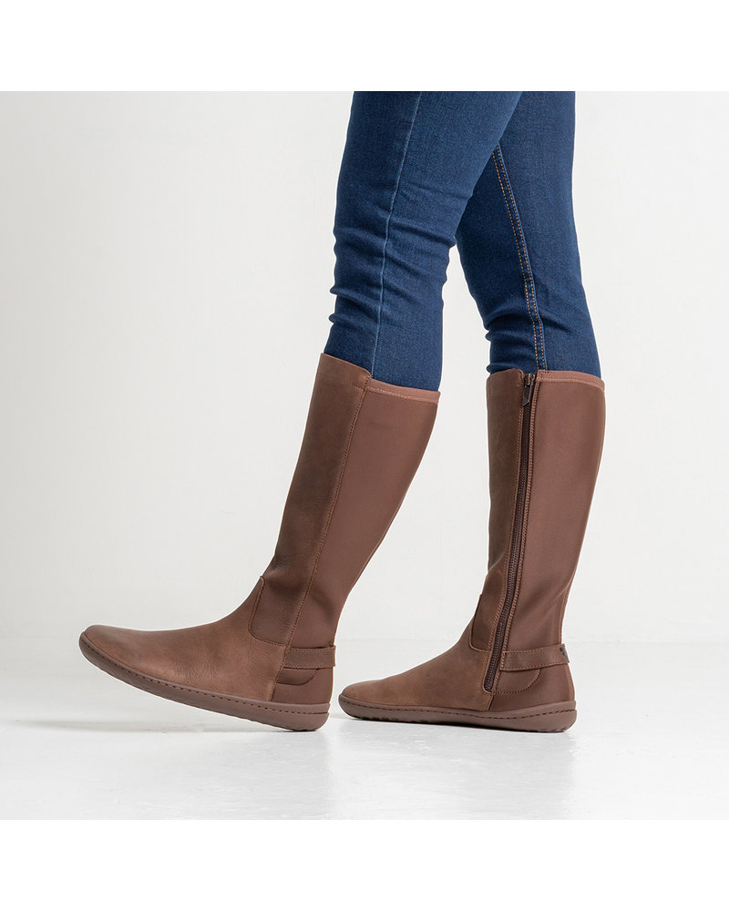 Vivobarefoot Ryder Ladies Leather Brown