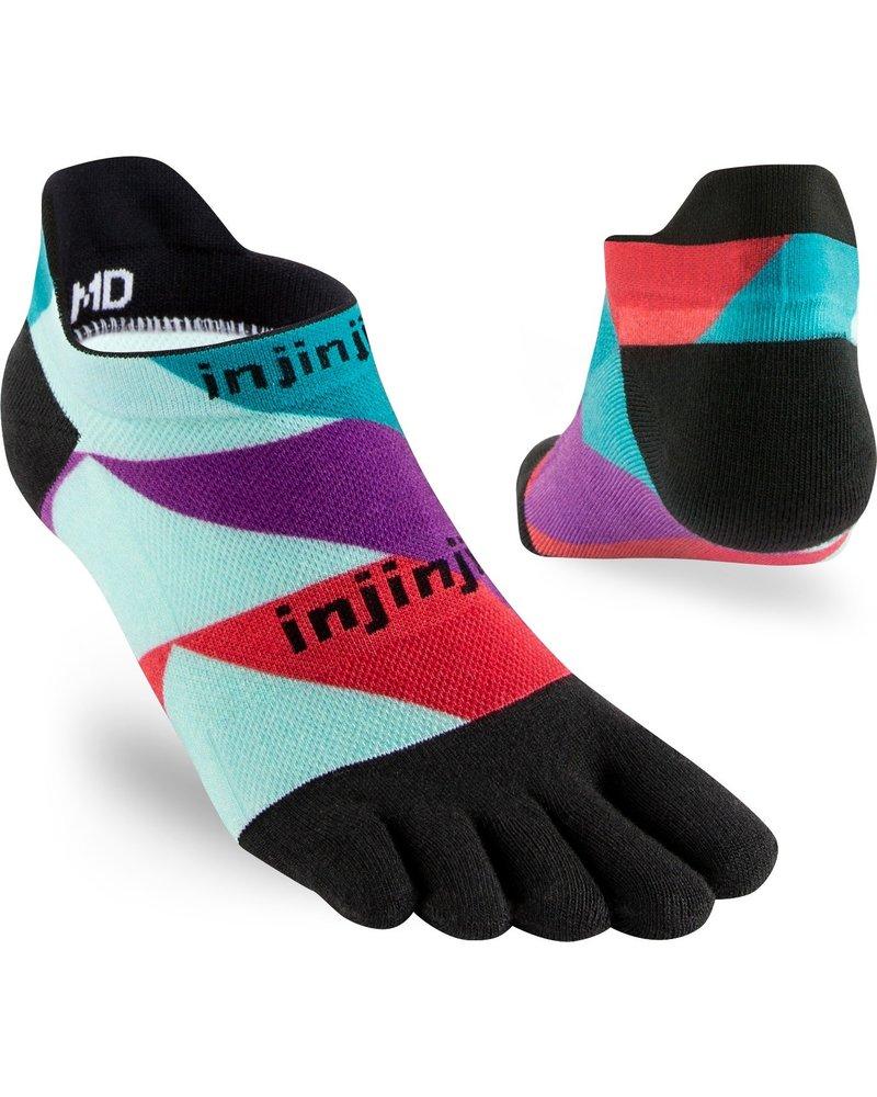 Injinji Spectrum Run Lightweight No-Show Coolmax Levels