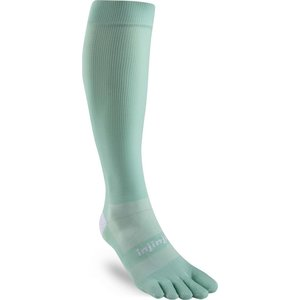 Injinji Womens Ultra Compression Crew Lycra Jade