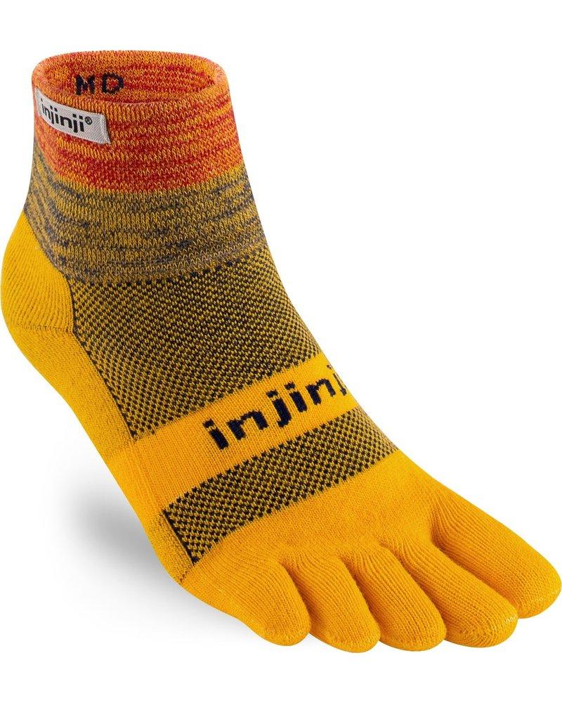 Injinji Trail Midweight Mini-Crew Coolmax Marigold