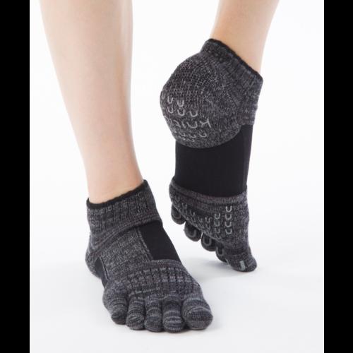 Knitido Umi Yoga Support Black, katoen met compressie