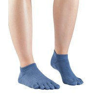 Essentials Sneaker Dull Blue, katoen