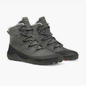 Vivobarefoot Tracker Snow Men Leather Dark Gull Grey