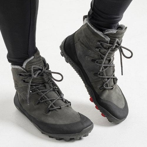 Vivobarefoot Tracker Snow Men Leather Dark Gull Grey