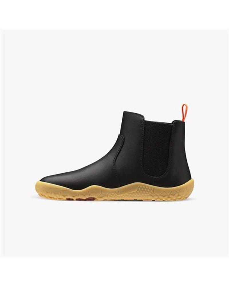 Vivobarefoot Fulham Junior Black Leather