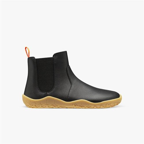 Vivobarefoot Fulham Junior Winter Black Leather