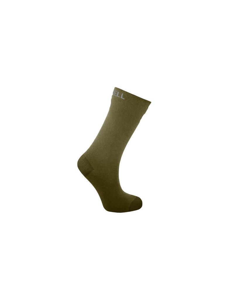 DexShell Waterproof Crew Socks Olive Green