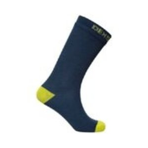 DexShell Waterproof Crew Socks Navy/Lime