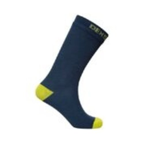 DexShell Waterproof Crew Socks Navy/Lime