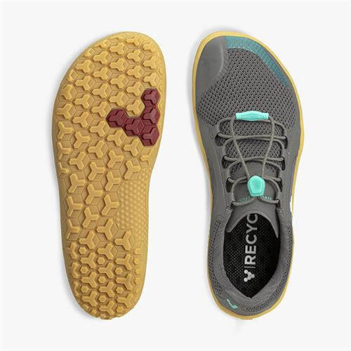Vivobarefoot Primus Trail FG Ladies Grey Spearmint