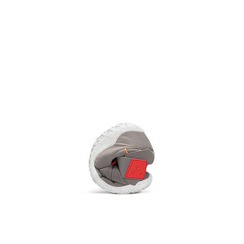 Vivobarefoot Yeti Kids Ash Grey Neon Red