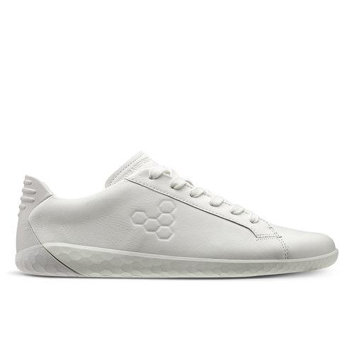 Vivobarefoot Geo Court Leather Men Bright White