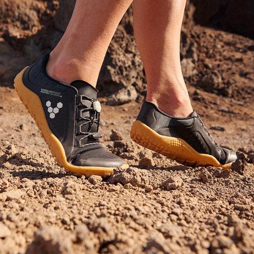 Vivobarefoot Primus Trail FG Ladies Obsidian Black