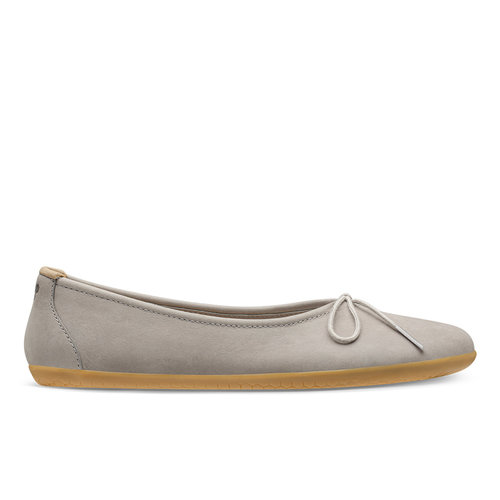Vivobarefoot Jing Jing Lace Ladies Leather Zinc