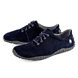 Joe Nimble roomyToes Dames suede Dark Blue