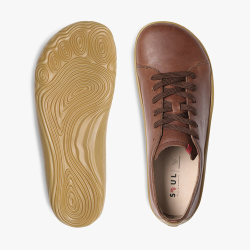 Vivobarefoot Addis Men Leather Brown