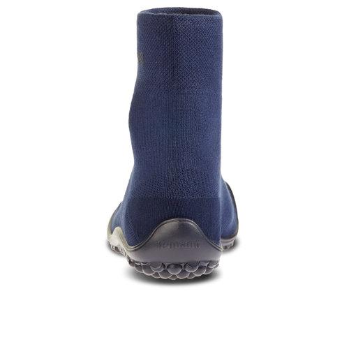 Leguano Classic Blauw met zwarte zool