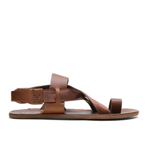Vivobarefoot Kuru Sandal Ladies Leather Tan