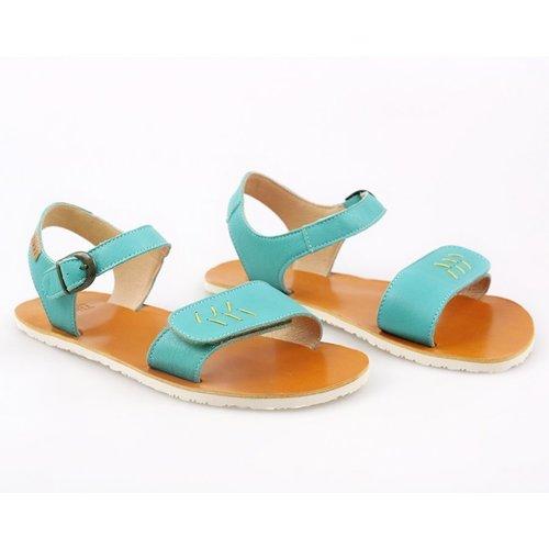 Tikki Vibe Sandal Golden Turquoise