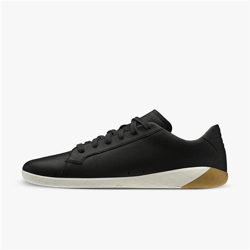 Vivobarefoot Geo Court Ladies Leather Obsidian