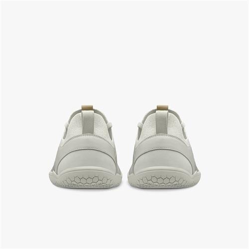Vivobarefoot Primus Knit Men Leather Bright White