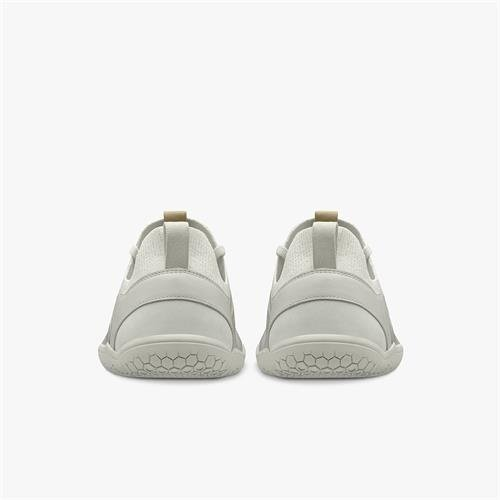 Vivobarefoot Primus Knit Ladies Leather Bright White