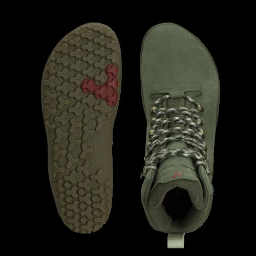 Vivobarefoot Tracker FG Men Leather Botanical Green