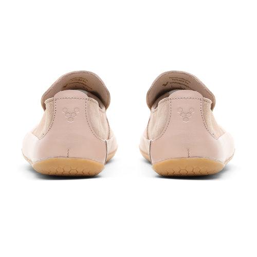 Vivobarefoot Opanka Leather Ladies Pink/Granite