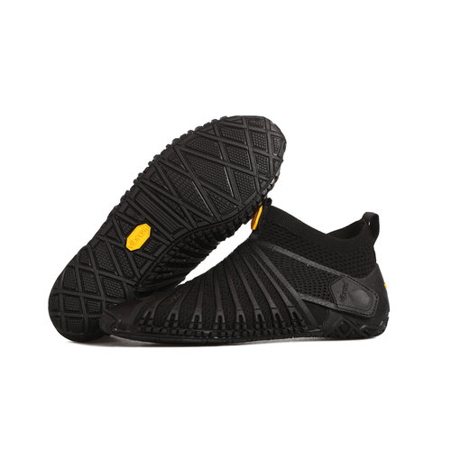Vibram Furoshiki Knit High Women Black