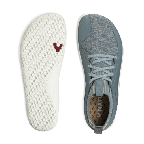 Vivobarefoot Primus Knit Ladies Wool Atlantic Blue