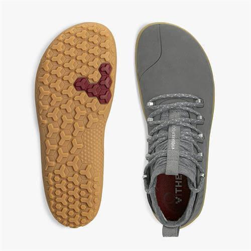 Vivobarefoot Magna Trail Men Leather & Wool Graphite