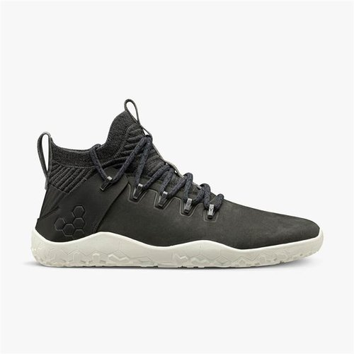 Vivobarefoot Magna Trail Men Leather & Wool Obsidian